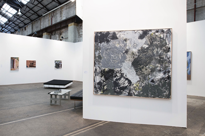 installation view: Sydney Contemporary 2017 | Group Show (E06) | Carriageworks, Sydney